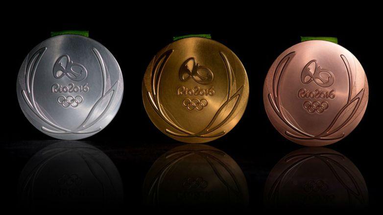 rio medals